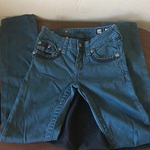 Girls Miss Me Size 10 Skinny Jeans